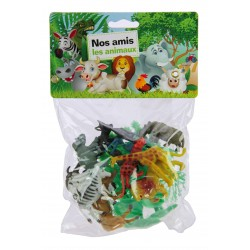 Animaux sauvages 16 pcs